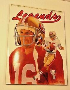 Mint Unused Winter 1990 Joe Montana San Francisco 49ers Legends Issue w/ Cards
