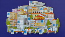 SET OF 12 PINS - PLAKA PUZZLE-ATHENS 2004 OLYMPIC PINS Very rare and collectible