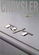 Chrysler Neon 2.0 R/T 2003 UK Market Foldout Sales Brochure