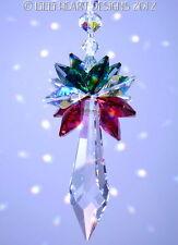 m/w Swarovski Crystal Christmas Ornament Sun Catcher Icicle Lilli Heart Designs