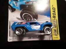 HW HOT WHEELS 2014 HW OFF-ROAD #115/250 LAND CRUSHER HOTWHEELS BLUE TOYOTA VHTF