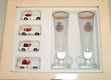 4 Pieces Cabriolet Set Warsteiner Promo Wiking 1:87 Å