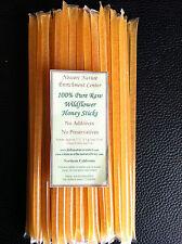 Honey Sticks,Straws,Stixs,Stix, Sugar Glider,Gift 100% Pure Natural Honey 12 pck