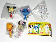 Yujin Mickey Stitch Marie Pool Minnie Musical tools keychain figure gashapon