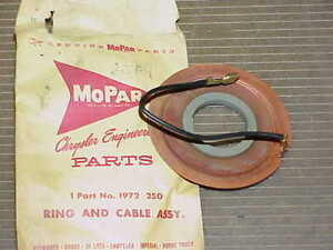 1960 Fury Dodge DeSoto Ring FEED CABLE NOS MoPar D500