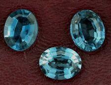 10x8 10mm x 8mm Brazilian Oval London Blue Topaz Gem Stone Gemstone EBS4124