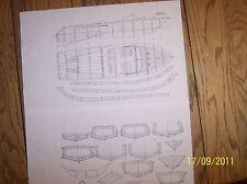 Riva Aquarama model boat plans