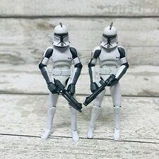 "Hasbro Star Wars Clone Wars Speeder Bike Recon Clone Trooper 3.75"" Figures"