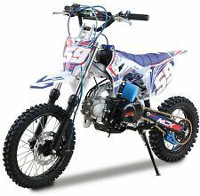 Pitbike Motocicletta da Motocross 125cc NCX Moto CRX 125 14/12 Silver