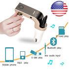 US Universal Car Bluetooth FM Transmitter MP3 Radio Player USB Charger & AUX Set