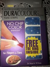 Nailene Duracolour Nail Strips Four Fingers And Toes Free Toe Ring Included