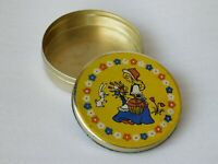 Vintage Soviet Empty Candy Tin Box - Little Red Riding Hood, USSR, 1970s #1