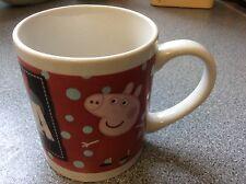 Peppa Pig Mug Genuine Ent. One UK Ltd Pottery Piece  Unused  Collectible