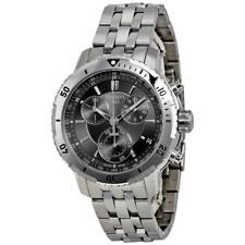 Tissot PRS 200 Silver Grey Dial Chronograph T0674171105100 Mens Swiss Made Watch