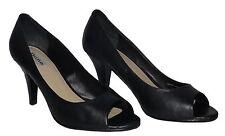 Dune Peep Toe Slim 100% Leather Upper Shoes for Women
