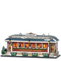 American Diner Dept 56 Christmas In The City Village 799939 restaurant snow Z