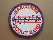 Barcombe Scout Band Cloth Patch Badge Boy Scouts Scouting L4K C