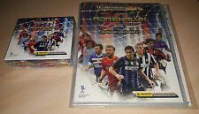 ALBUM CALCIATORI PANINI ADRENALYN 2010/11 CARD + BOX BUSTINE 2011