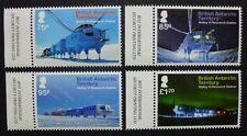 Brit. Antarktis BAT 2013 Halley IV Forschungsstation 650-653 Postfrisch MNH