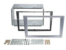 VAUXHALL Tigra VECTRA C Car Radio Panel Mounting Frame Dark Silver Double DIN
