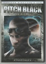 New listing Pitch Black- Vin Diesel (Dvd, 2004, Unrated, Directors Cut, Widescreen Edition)