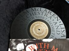 Rare LISA MARIE Presley MALCOLM MCLAREN BOOTZILLA ORCH Something's Jumpin ETCHED
