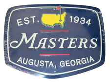 """2019 MASTERS VINTAGE METAL SIGN (12.5"""" x 16.25"""")  from AUGUSTA NATIONAL"""
