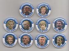 More details for birmingham city legends fridge magnets  x10 set 7  38mm  in size