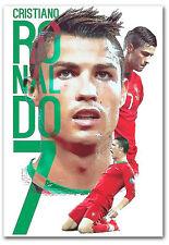 "Cristiano Ronaldo Portugal Fridge Magnet Size 2.5"" x 3.5"""