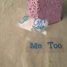 New I Do Me Too Trendy Shoe Sticker Wedding Accessory Bridal Groom Wedding Decal
