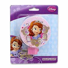 Disney Princess Sofia The First Girls Kids Adjustable Night Light Lamp w Bulb NW