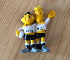 Alte Werbefigur Figur WM 74 Tip & Tap Fußball