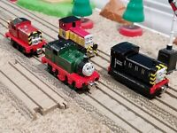 "Thomas & Friends Take n Play Along Lot of 4 ""MAVIS WHIFF DART SALTY"" Diecast"