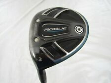 Used LH Callaway Rogue 3 Fairway Wood Synergy 60 Graphite Regular R Flex +HC