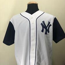 Majestic New York Yankees Derek Jeter Replica Jersey #2 Made in USA SZ L