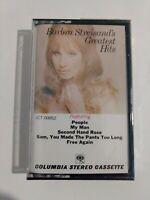 Barbra Streisand's Greatest Hits [Cassette] New Sealed
