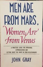 Men Are From Mars, Women Are From Venus By John Gray PB Relationships