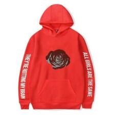 New Juice Wrld Printed Hoodie Casual Sweatshirt Hooded Cotton Pullover Outwear