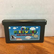 Super Mario World: Super Mario Advance 2 (Nintendo Game Boy Advance, 2002)