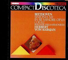 Beethoven /  Compact Discoteca - Sinfonia N.9 In Re Minore OP.125 - Karajan