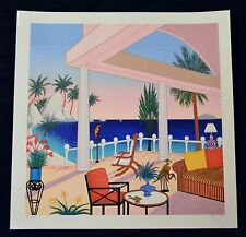 FANCH LEDAN PANEMA VILLA SERIGRAPH ON PAPER  LE SIGNED/# COA EA 52/75