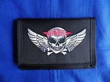 LIVE TO RIDE WINGED SKULL HEAVY DUTY WALLET