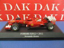 Die cast 1/43 Modellino Auto F1 Ferrari F2012 2012 F.Alonso by Atlas