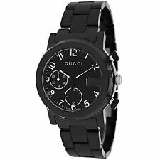 Men's Quartz (Battery) Ceramic Case Watches with Chronograph