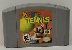 Mario Tennis (Nintendo 64, 2004) Authentic N64, Tested!