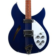 2008 Rickenbacker Rick Ric 330 Semi-Hollow Electric Guitar Midnight Blue