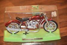 "Vintage 1971 ZEE Toys red Yamaha Hawk Motorcycle Chopper Ezee Rider 7"" plastic"