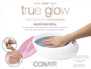 Thermal Paraffin Wax Hand Bath Refill True Glow  Model PB8NR