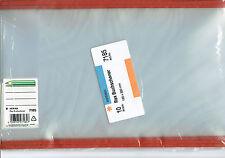 10 x 185mm, 18,5 cm Transparente  Buchschoner Buchumschläge Buchumschlag HERMA