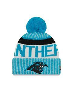Carolina Panther New Era 2017 Sport Knit Sideline Knit Hat- Blue